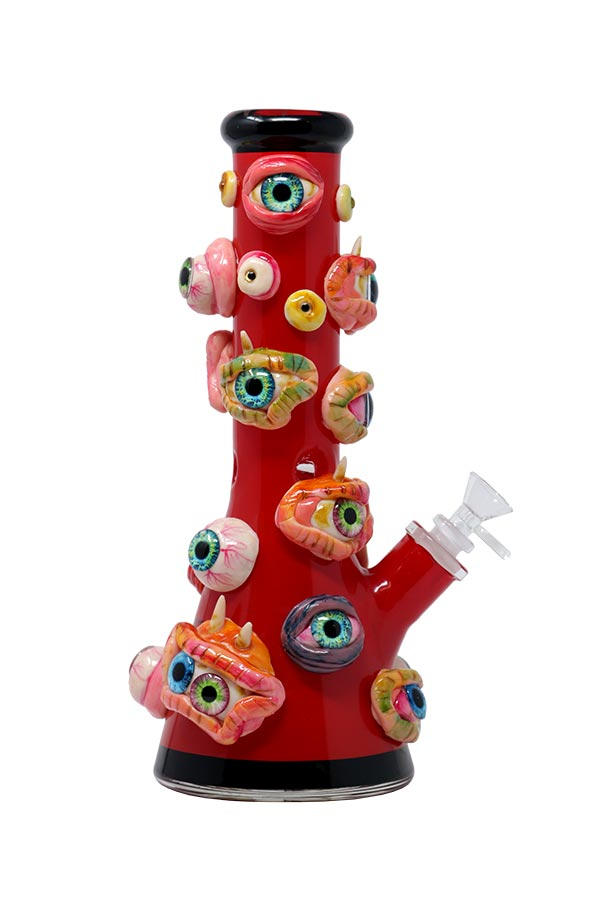 12.5 inch 3D-Wrap Monster Eyes Beaker