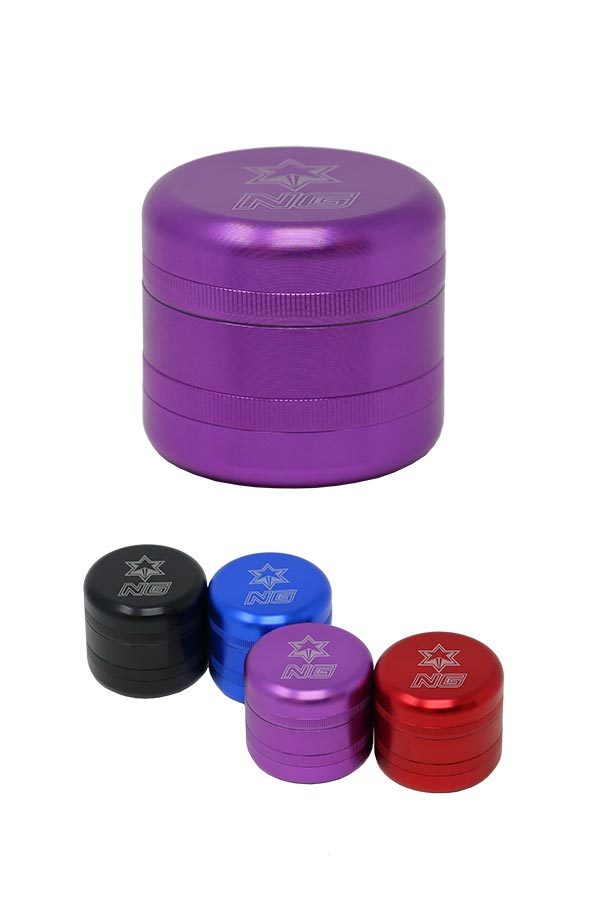 3-Piece Built-In Jar Grinder