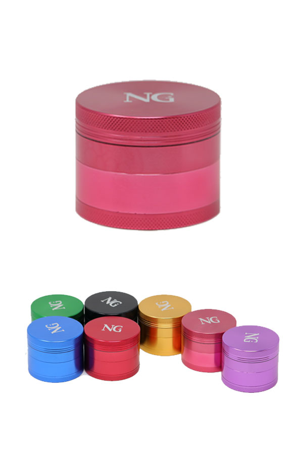 NG 4-Piece Medium Aluminum Grinder