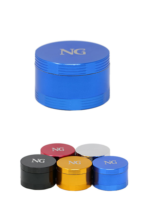 NG 4-Piece (Inside Screen) Aluminum Grinder