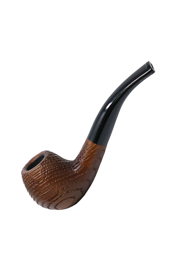 5.5 inch Sandblasted Apple Tobacco Pipe