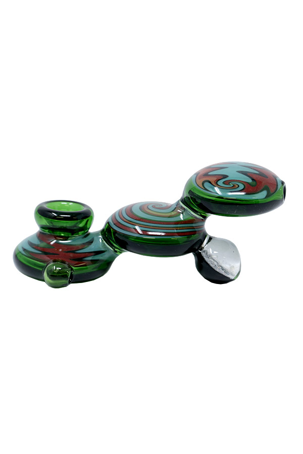 5 inch Tri-Disc Step Up Hand Pipe