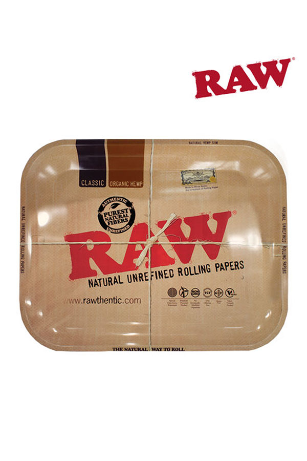 RAW Rolling Tray Tin Large