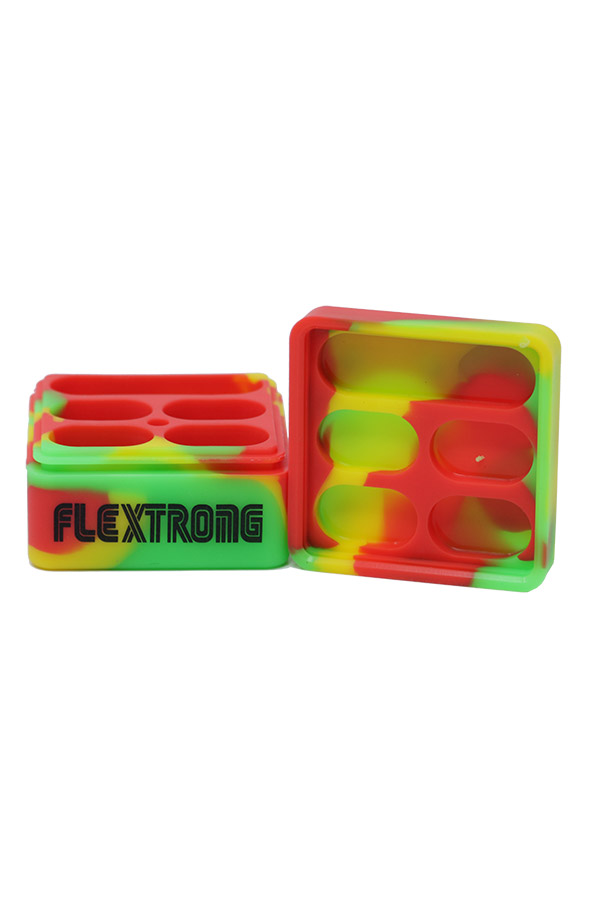 Silicone Stackable Square Jar