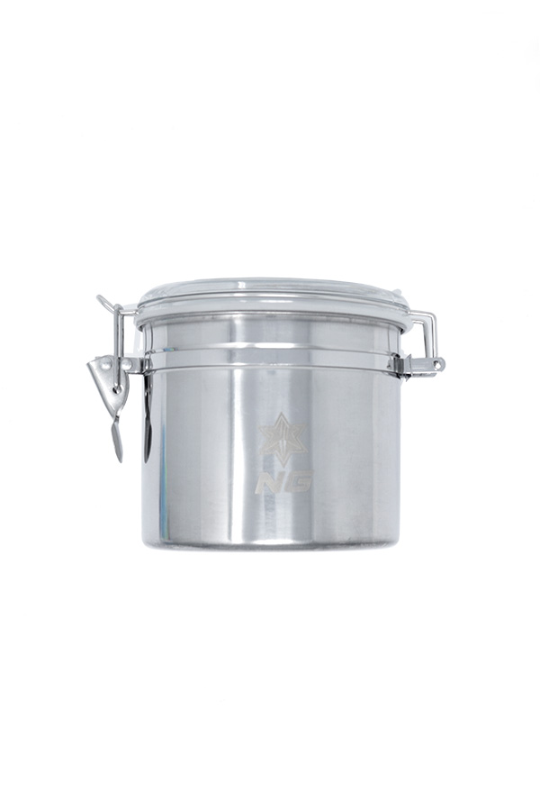 Stainless Metal Canister - Wide